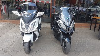 5. Kymco Downtown 250cc Versus SYM GTS 250cc