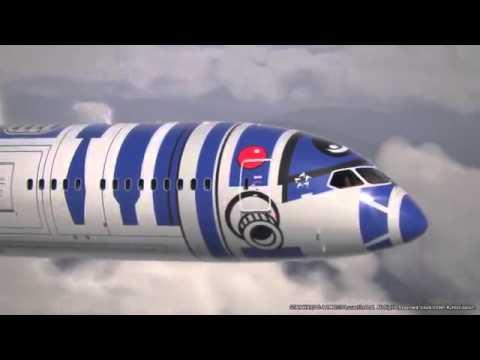 İşte Star Wars temalı yolcu uçağı