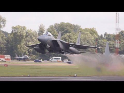 2x McDonnell Douglas F-15C Eagle...