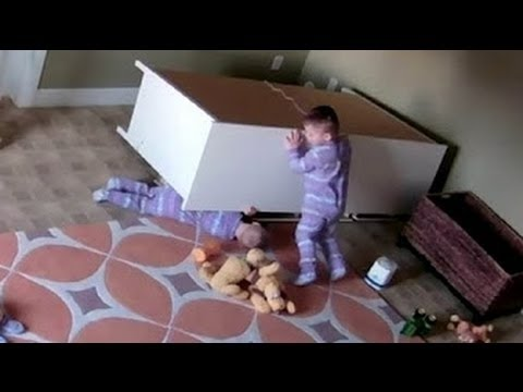 Video Moment 2 Year Old Twin Saves Stuck Brother Crushed By a Wardrobe (AMAZING VIDEO) download in MP3, 3GP, MP4, WEBM, AVI, FLV January 2017