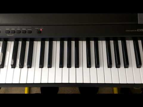 Piano Theory: Whole Step and Half Step method for identifying G Major Keys – Whole Step Half Step