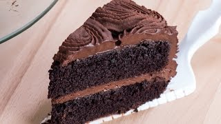 Chocolate Rose Cake Recipe by Home Cooking Adventure