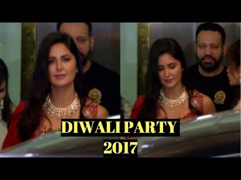 Katrina Kaif At Arpita Khan's Diwali Party 2017