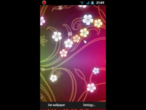 Video of Flowers Live Wallpaper PRO