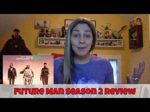 Future Man Season 2 Review! (Hulu)