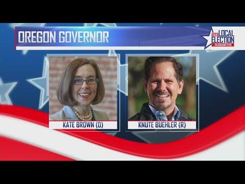 Oregon governor race: Brown vs Buehler