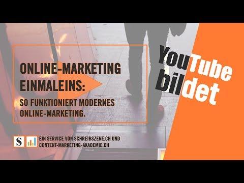 Online Marketing: Wie alles zusammenhängt – leicht verständliche Einführung (10 min.)