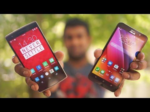 , title : 'ASUS Zenfone 2 vs OnePlus One Comparison!'