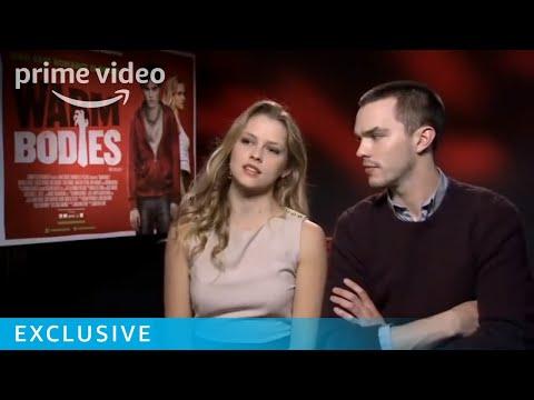 Nicholas Hoult and Teresa Palmer Warm Bodies interview | Prime Video