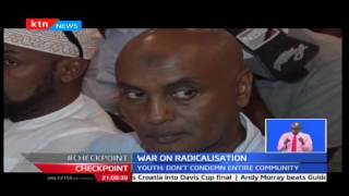 Somali youths met in Mombasa and held an Anti - radicalisation forum