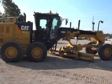 CATERPILLAR NIVELEUSES 120M2 equipment video N-BWDO1Vo2E