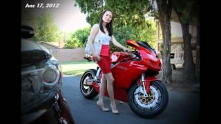 5. Ducati 999 Review + A Ducati 1199 Panigale Termignoni Revving :-)