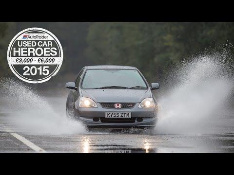 Used Car Heroes: £3,000 - £6,000 - Honda Civic Type R