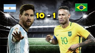 Download Video ARGENTINA 10 vs BRASIL 1 - Amistoso Internacional - SAMPAOLI BEGINS 2017 - PARODIA (1 - 0) MP3 3GP MP4