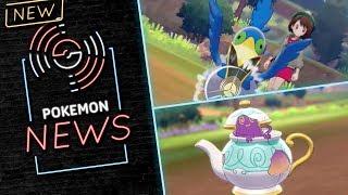 NEW POKEMON! CRAMORANT, POLTEAGEIST! NEW CUSTOMIZATIONS! Pokemon Sword and Pokemon Shield! ⚔️� by PokeaimMD
