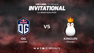 OG против Kinguin, Вторая карта, EU квалификация SL i-League Invitational S3