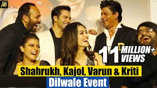 Dilwale Movie 2015 (HD) | Shahrukh Khan, Kajol, Varun Dhawan, Kriti Sanon | Full Promotion