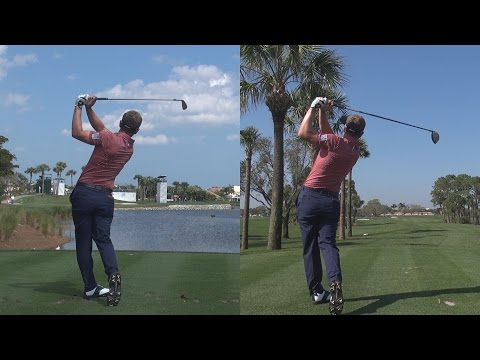 LUKE DONALD – 2014 DRIVER & IRON GOLF SWING SYNCED FULL SPEED & SLOW MOTION 1080p HD