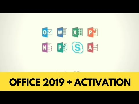 How To Install Office 2019 with Activation | 100% Working