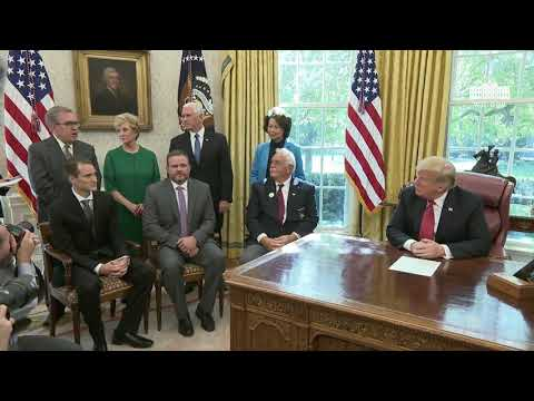 """President Trump Meets with Workers on """"Cutting the Red Tape, Unleashing Economic Freedom"""""""
