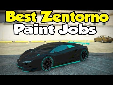 "GTA 5 Online – Best ""Pegassi Zentorno"" Paint Jobs! [Touch Up Tuesday]"