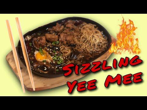 Sizzling Yee Mee (Resipi Mudah dan Cepat!)