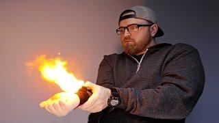 Video The Wrist Mounted Flamethrower! MP3, 3GP, MP4, WEBM, AVI, FLV Oktober 2018