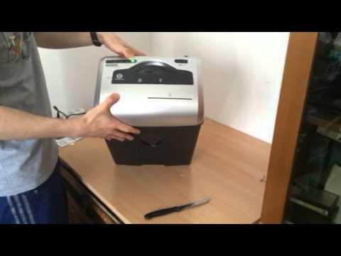 Unboxing e test Distruggidocumenti e carte credito Amazon basics