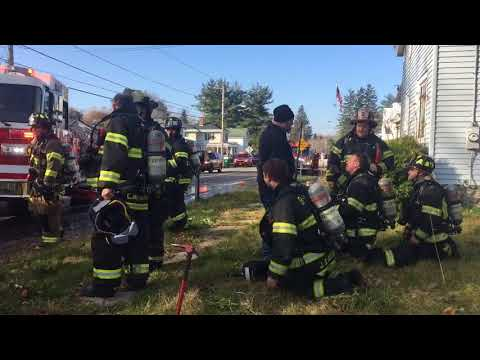 Landlord follows smoke, finds Lysander home on fire