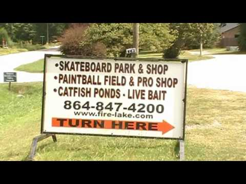 Fire Lake Skateboard Park Anderson SC SnakeSession