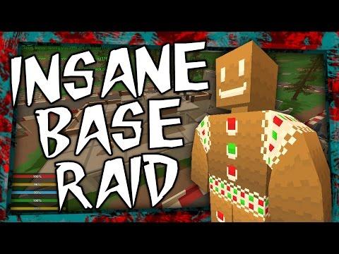 Unturned - INSANE BASE RAID with G Wricky!
