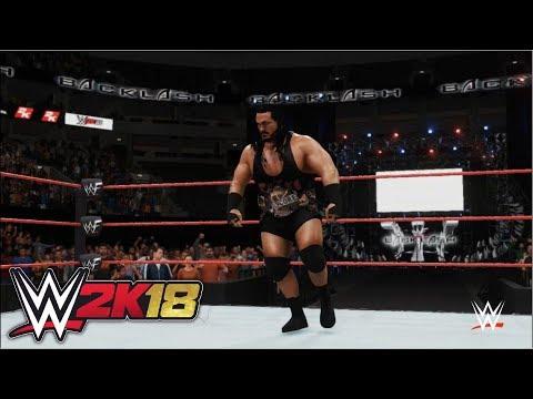 WWE 2K18 - Rhyno vs. Raven: Hardcore Championship | Backlash (2001)