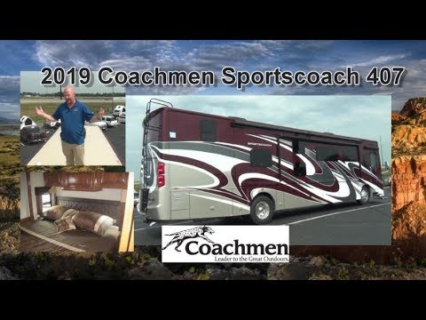 NEW 2019 Coachmen Sportscoach 407 | Mount Comfort RV