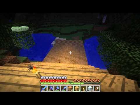 Строительство замка в minecraft 1.2.5 (часть 64). Fomka31