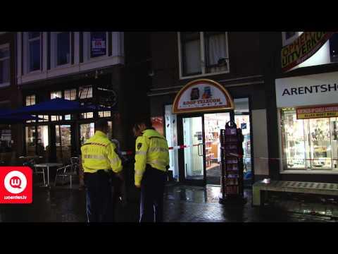 Overval op juwelier Arentshorst Voorstraat Woerden