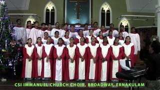 Ernakulam India  city images : CSI Immanuel Church Choir ,Ernakulam, India Singing Christmas Hallelu(recorded live)