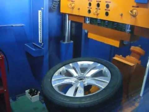 Прочность колёсных дисков WSP Italy W767 MANILA на удар спицы (Мерседес)