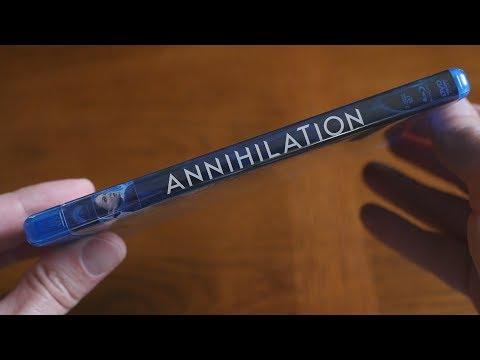 Unboxing ANNIHILATION - Blu-ray + DVD + Ultraviolet Digital