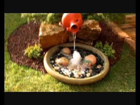 Fuentes agua para jardin videos videos relacionados for Fuente agua jardin