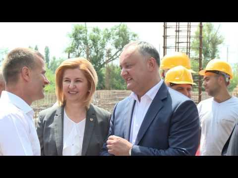 Igor Dodon efectuează o vizită de lucru în orașul Comrat din UTA Găgăuzia