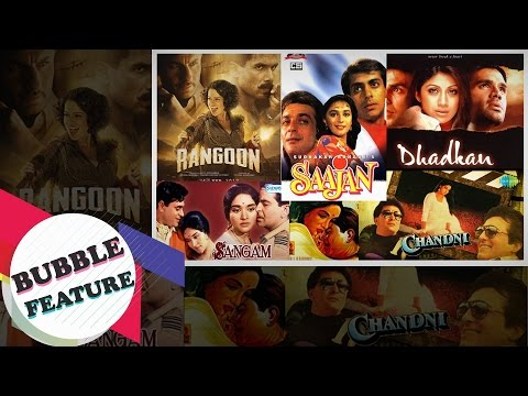 Bollywood's Greatest Love Triangle Films