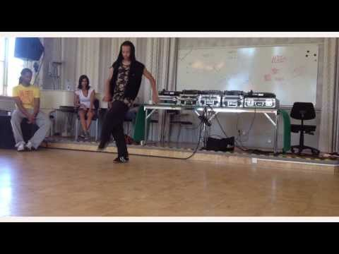 King Charles Footwork Freestyle in Sweden
