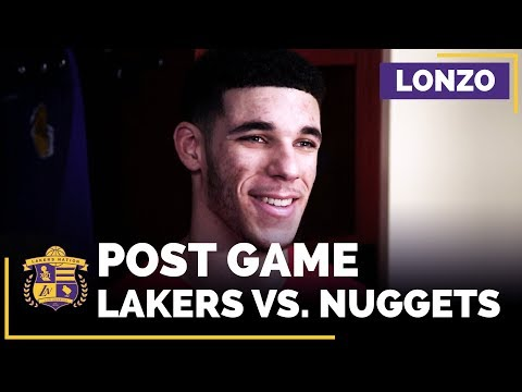 Video: Lonzo Ball After Second Triple-Double, 16 Rebounds