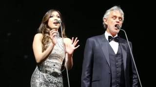 Video Canto Della Terra Andrea Bocelli 2016 UK Tour Christine Allado Glasgow Sheffield MP3, 3GP, MP4, WEBM, AVI, FLV September 2018
