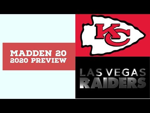 2020 Week 11 Preview - Kansas City Chiefs vs Oakland Raiders - Simulation Nation