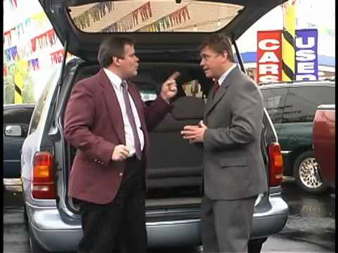 Funny Car Salesman Video