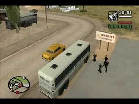 GTA San Andreas – Cops Gone Wild- Grand theft Auto- gta4