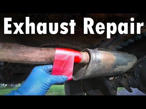 How to Find and Repair Exhaust Leaks EASY (Without a Welder)