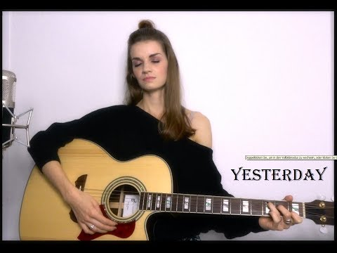 "The Beatles  ""Yesterday"" Cover by Diary of Madaleine Music"