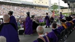 Northwestern University, #CommencementStunt